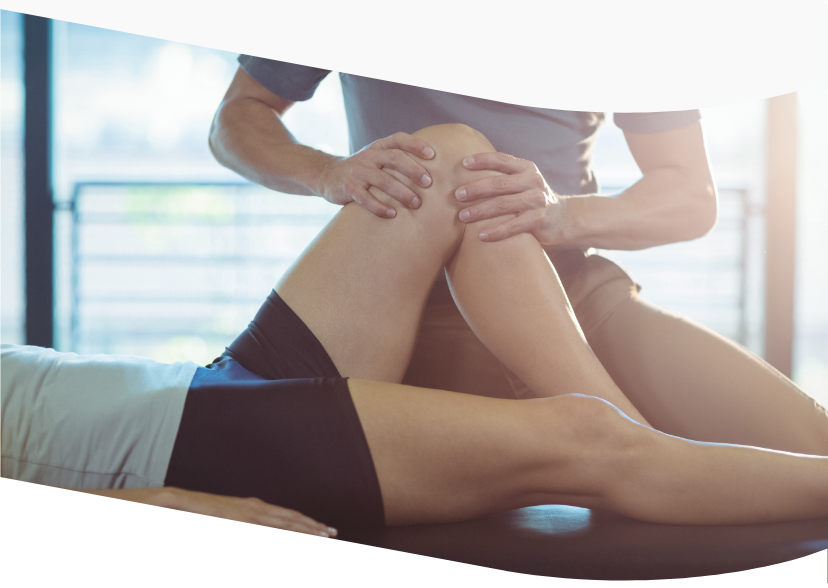 Osteopathic treatment of the knee and foot