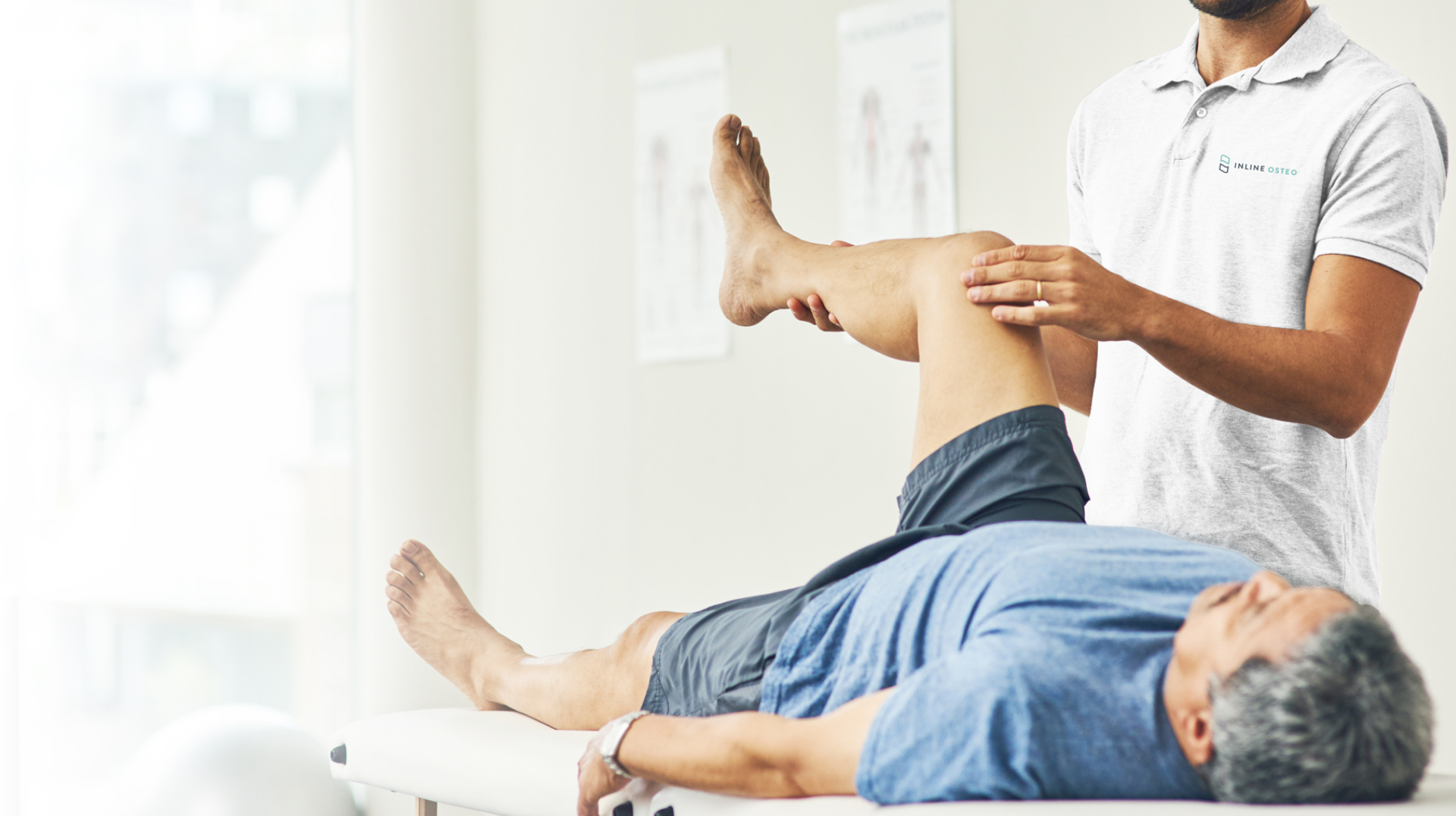 Osteopathic treatment of the knee